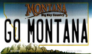 Go Montana Wholesale Novelty Metal Magnet M-12859