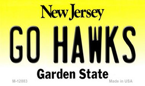 Go Hawks Wholesale Novelty Metal Magnet M-12883