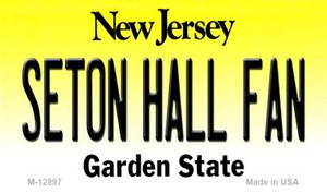 Seton Hall Fan Wholesale Novelty Metal Magnet M-12897