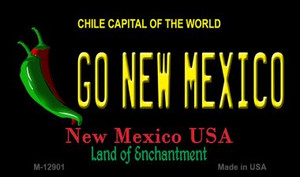 Go New Mexico Wholesale Novelty Metal Magnet M-12901