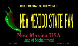 New Mexico State Fan Wholesale Novelty Metal Magnet M-12908