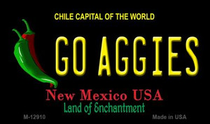Go Aggies Wholesale Novelty Metal Magnet M-12910