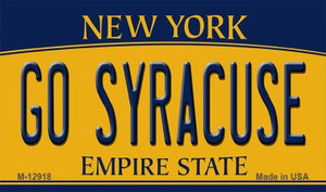 Go Syracuse Wholesale Novelty Metal Magnet M-12918