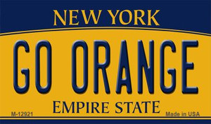 Go Orange Wholesale Novelty Metal Magnet M-12921