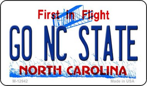 Go North Carolina State Wholesale Novelty Metal Magnet M-12942