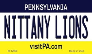 Nittany Lions Wholesale Novelty Metal Magnet M-12990