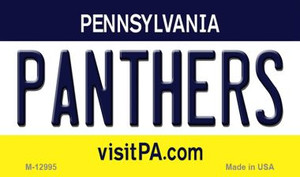 Panthers Wholesale Novelty Metal Magnet M-12995