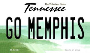Go Memphis Wholesale Novelty Metal Magnet M-13017