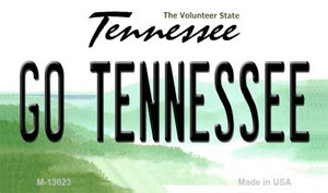 Go Tennessee Wholesale Novelty Metal Magnet M-13023