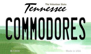 Commodores Wholesale Novelty Metal Magnet M-13030