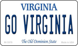 Go Virginia Wholesale Novelty Metal Magnet M-13079