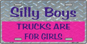Silly Boys Novelty Wholesale Metal License Plate