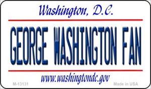George Washington Fan Wholesale Novelty Metal Magnet M-13131