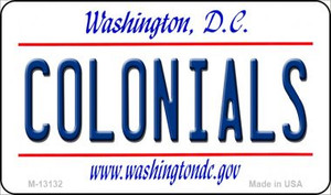 Colonials Wholesale Novelty Metal Magnet M-13132
