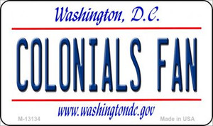 Colonials Fan Wholesale Novelty Metal Magnet M-13134