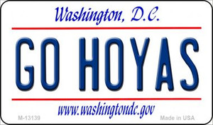 Go Hoyas Wholesale Novelty Metal Magnet M-13139