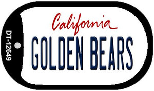 Golden Bears Wholesale Novelty Metal Dog Tag Necklace DT-12649