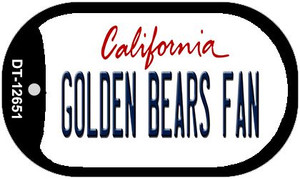 Golden Bears Fan Wholesale Novelty Metal Dog Tag Necklace DT-12651