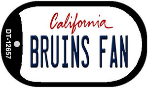 Bruins Fan Wholesale Novelty Metal Dog Tag Necklace DT-12657