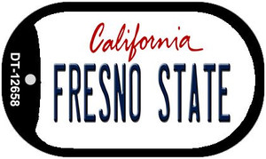 Fresno State Wholesale Novelty Metal Dog Tag Necklace DT-12658