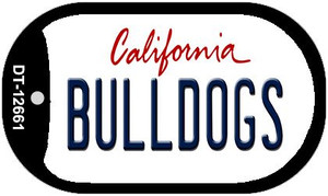 Bulldogs Wholesale Novelty Metal Dog Tag Necklace DT-12661