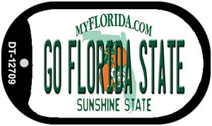 Go Florida State Wholesale Novelty Metal Dog Tag Necklace DT-12709