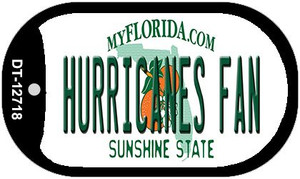 Hurricanes Fan Wholesale Novelty Metal Dog Tag Necklace DT-12718
