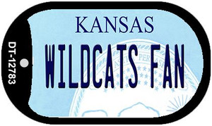 Wildcats Fan Wholesale Novelty Metal Dog Tag Necklace DT-12783