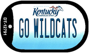 Go Wildcats Wholesale Novelty Metal Dog Tag Necklace DT-12791