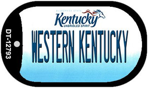 Western Kentucky Wholesale Novelty Metal Dog Tag Necklace DT-12793