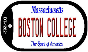 Boston College Wholesale Novelty Metal Dog Tag Necklace DT-12821