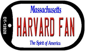 Harvard Fan Wholesale Novelty Metal Dog Tag Necklace DT-12828
