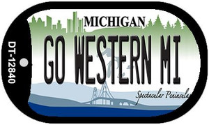 Go Western Michigan Wholesale Novelty Metal Dog Tag Necklace DT-12840
