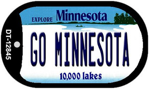 Go Minnesota Wholesale Novelty Metal Dog Tag Necklace DT-12845