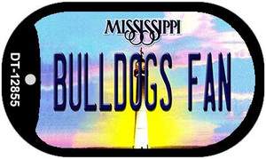 Bulldogs Fan Wholesale Novelty Metal Dog Tag Necklace DT-12855