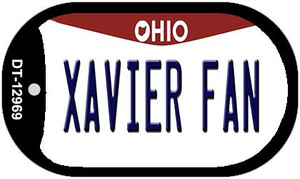 Xavier Fan Wholesale Novelty Metal Dog Tag Necklace DT-12969
