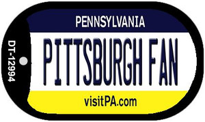 Pittsburgh Fan Wholesale Novelty Metal Dog Tag Necklace DT-12994