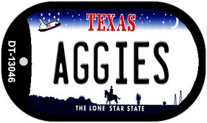Aggies Wholesale Novelty Metal Dog Tag Necklace DT-13046