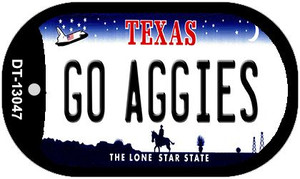 Go Aggies Wholesale Novelty Metal Dog Tag Necklace DT-13047