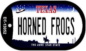 Horned Frogs Wholesale Novelty Metal Dog Tag Necklace DT-13052