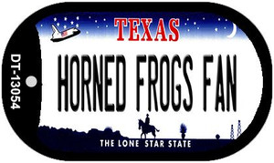Horned Frogs Fan Wholesale Novelty Metal Dog Tag Necklace DT-13054