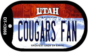 Cougars Fan Wholesale Novelty Metal Dog Tag Necklace DT-13068