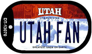 Utah Fan Wholesale Novelty Metal Dog Tag Necklace DT-13070