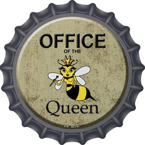 Office of the Queen Wholesale Novelty Metal Bottle Cap BC-166