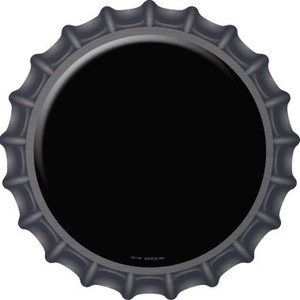 Black Wholesale Novelty Metal Bottle Cap BC-150