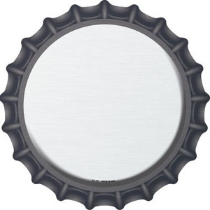 White Wholesale Novelty Metal Bottle Cap BC-151