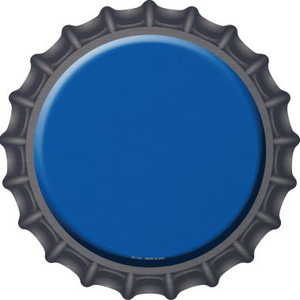 Blue Wholesale Novelty Metal Bottle Cap BC-154