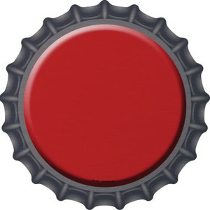 Red Wholesale Novelty Metal Bottle Cap BC-157