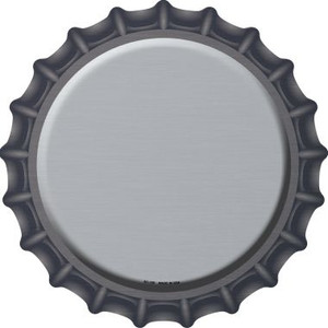Gray Wholesale Novelty Metal Bottle Cap BC-158