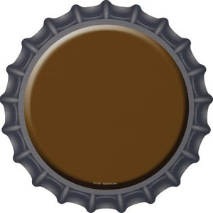 Brown Wholesale Novelty Metal Bottle Cap BC-160